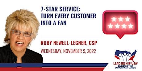 7 Star Service: Turn Every Customer into a Fan tickets