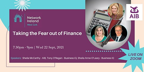 Taking the Fear out of Finance tickets