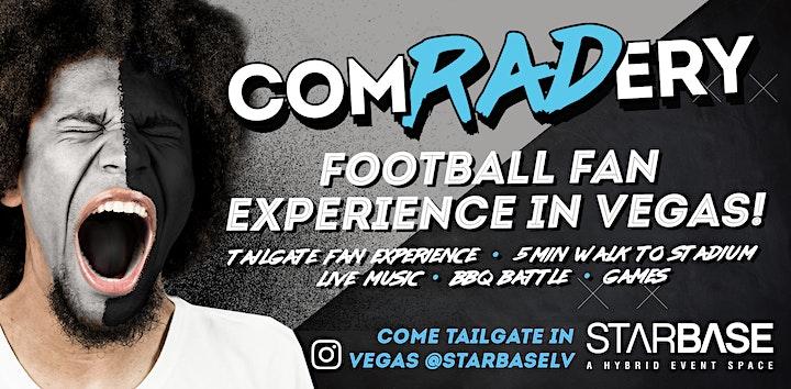 Comradery at StarBase: Kansas VS Las Vegas TAILGATE image