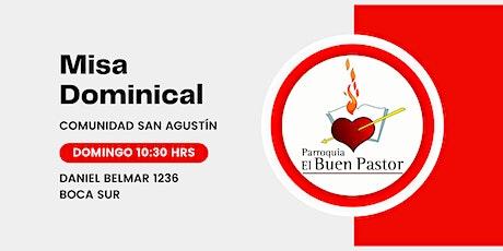 Misa Dominical Comunidad San Agustín boletos