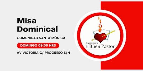 Misa Dominical Comunidad Santa Mónica boletos