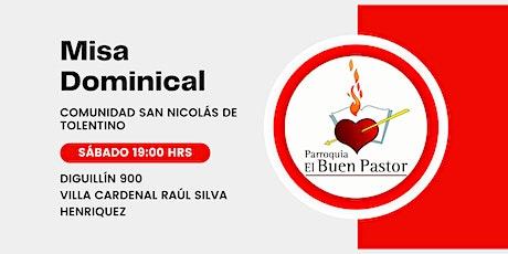 Misa Dominical Comunidad San Nicolás de Tolentino boletos