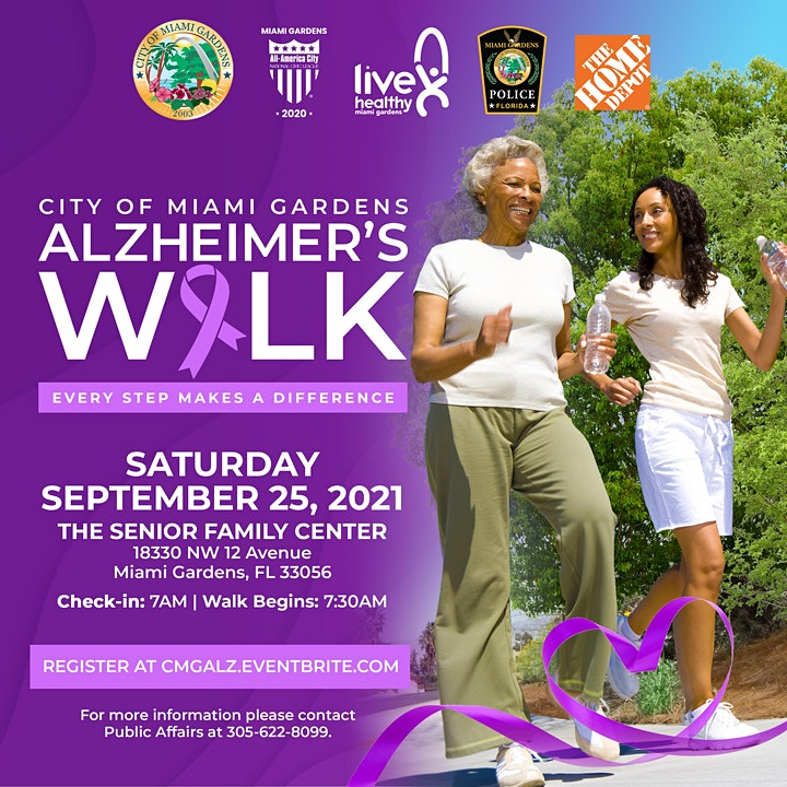 City of Miami Gardens Alzheimer's Walk image