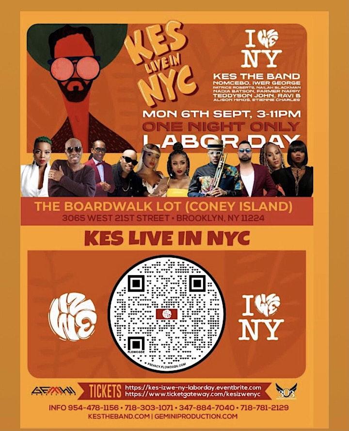 Kes The Band Iz We NY Labor Day image