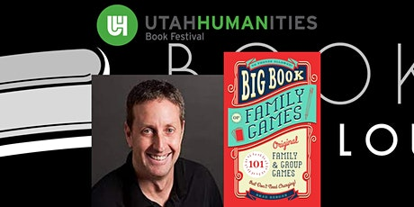 """Virtual UHBF Author Event - Brad Berger (""""Big Book of Family Games"""") tickets"""
