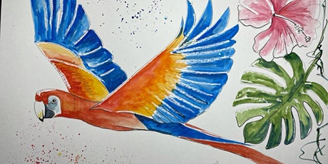 Thursday Art Club: Scarlet Macaw tickets