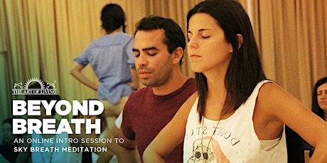 Beyond Breath - An Introduction to SKY Breath Meditation - Orange tickets