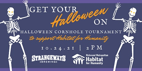 Habitat Halloween Cornhole Tournament tickets