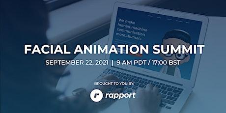 Facial Animation Summit tickets