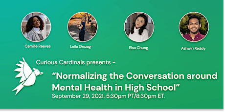 Normalizing the Conversation around Mental Health in High School tickets