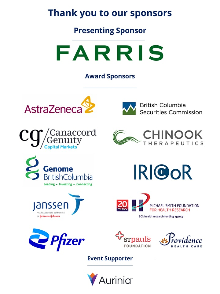 23rd Annual Life Sciences BC Awards presented by FARRIS image