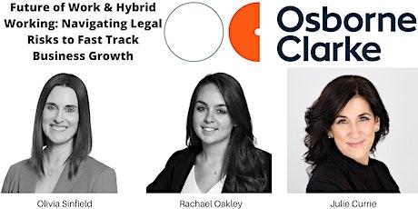 Future of Work & Hybrid Working tickets