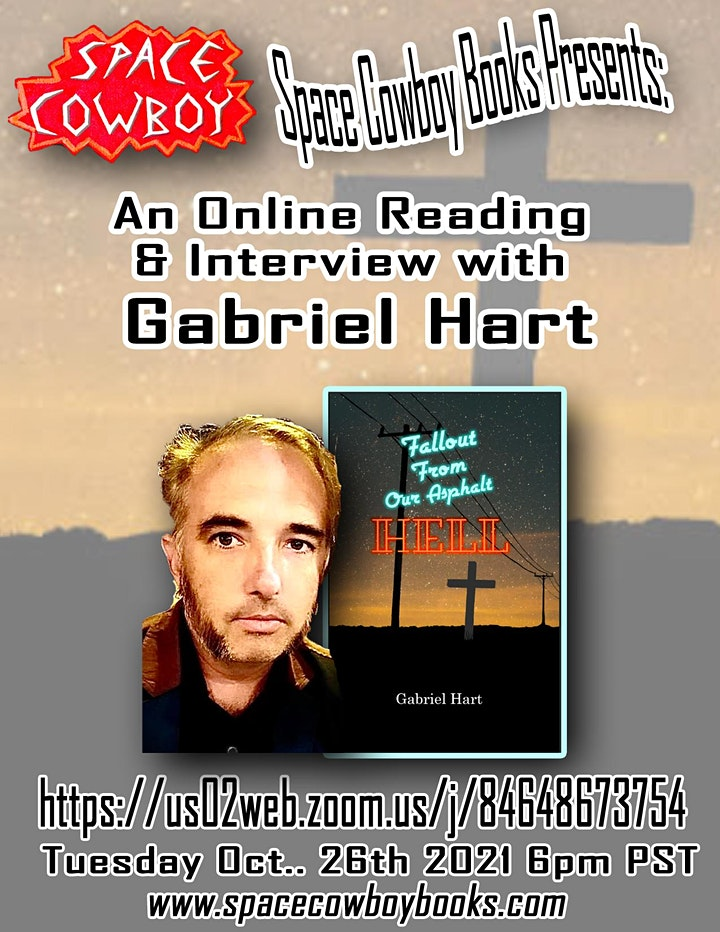Online Event: Reading & Interview with Gabriel Hart image