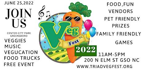 5th Annual Triad Vegfest CENTER CITY PARK tickets