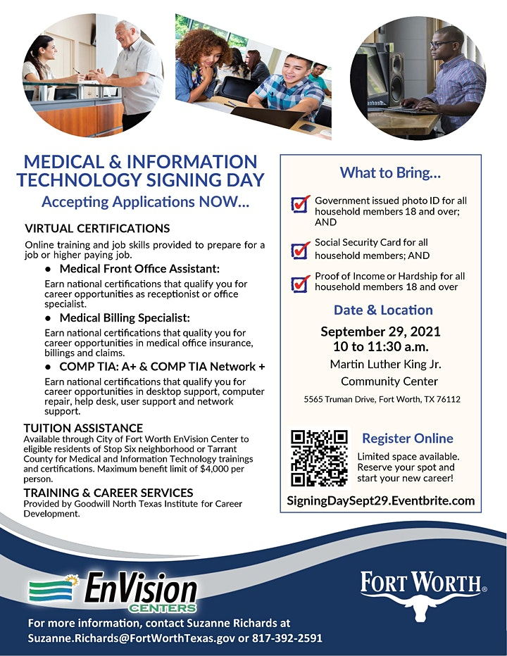 Medical and Information Technology Signing Day image