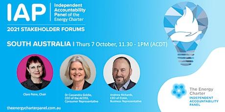 2021 IAP Stakeholder Forum - South Australia tickets