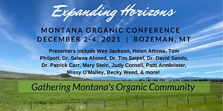 Montana Organic Conference tickets