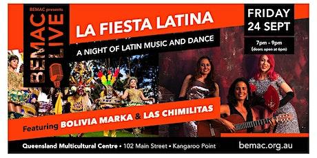 BEMAC LIVE: La Fiesta Latina tickets