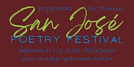 2021 San José Poetry Festival Pass tickets