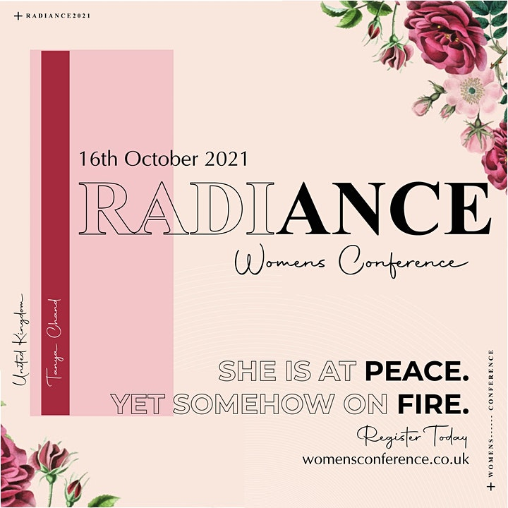 RADIANCE WOMENS CONFERENCE 2021 //  Tanya Chand image