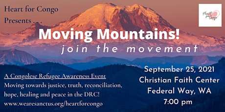 Heart for Congo Presents . . . Moving Mountains! tickets