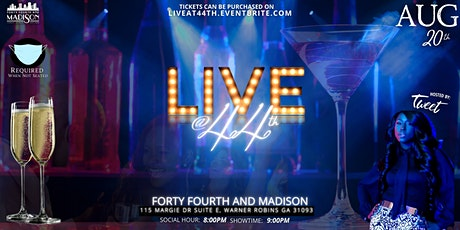 LIVE @ 44th tickets