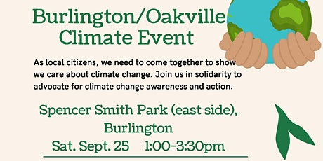 Burlington - Oakville Climate Event tickets