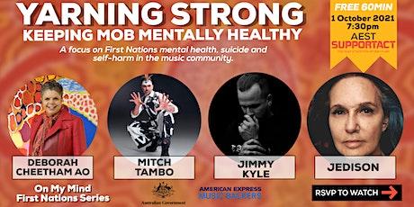Yarning Strong - Keeping Mob Mentally Healthy tickets
