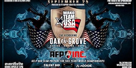 Team USA Kickboxing Fundraiser tickets