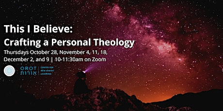 This I Believe: Crafting a Personal Theology tickets