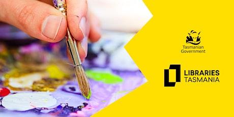 Paint & Snip @ Launceston Library tickets