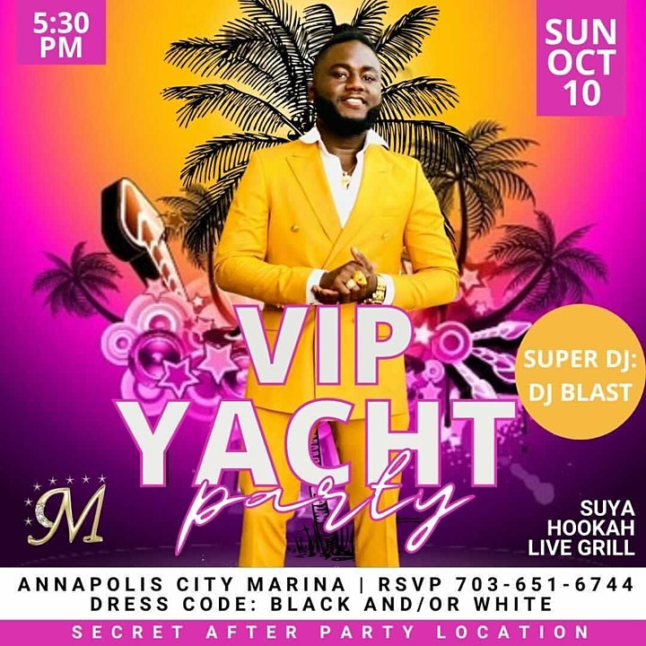 VIP YACHT PARTY image