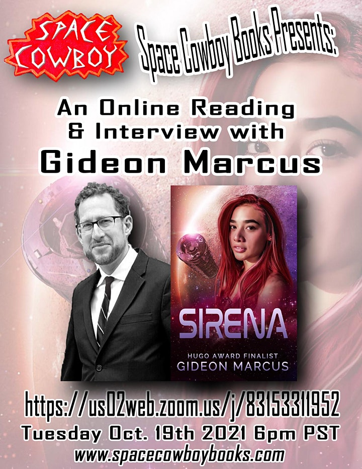 Online Event: Reading & Interview with Gideon Marcus image