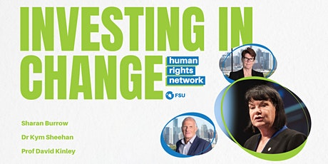FSU Human Rights Network: Investing In Change tickets