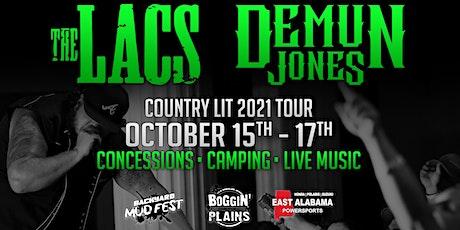 The LACs Country Lit Tour w/ Demun Jones & Dusty Leigh - Auburn, AL tickets