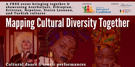 Mapping Cultural Diversity Together - An Alberta Culture Days Event tickets