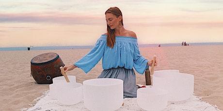 Pisces Full Moon & Summer Farewell: Slow Flow Yoga &  Sound Bath Meditation tickets