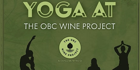 Yoga & Wine at The OBC Wine Project tickets