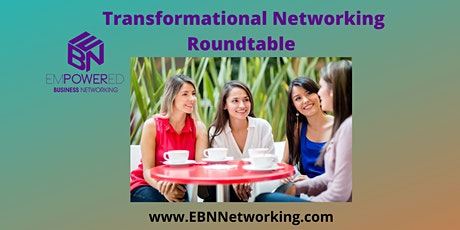 9.23.21 Transformational Networking Roundtable tickets