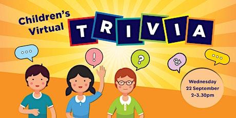 Children's Virtual Trivia tickets