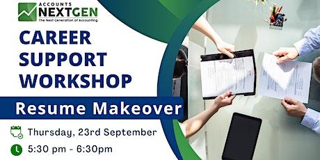 Resume Makeover | Career Support Workshop tickets