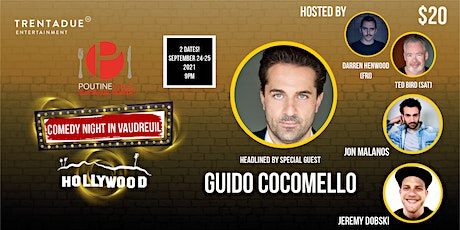 Comedy Night in Vaudreuil headlined by Guido Cocomello: Saturday tickets