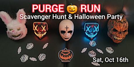 PURGE  RUN - LA Halloween Scavenger Hunt & Party tickets