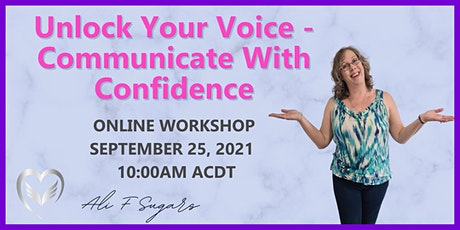 Unlock Your Voice - Communicate With Confidence tickets