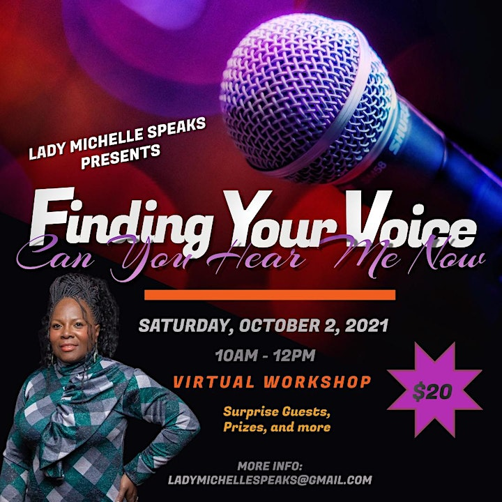 Finding Your Voice Workshop image