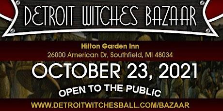 Detroit Witches Bazaar tickets