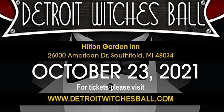 Detroit Witches Ball tickets