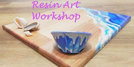 Resin Art Workshop - Creative Beginnings tickets