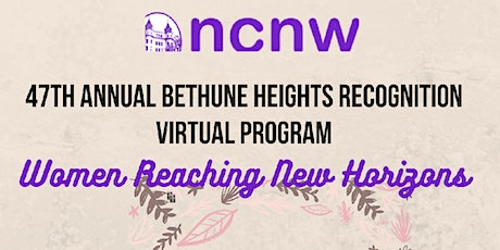 Annual  Bethune Height Recognition Virtual Program tickets