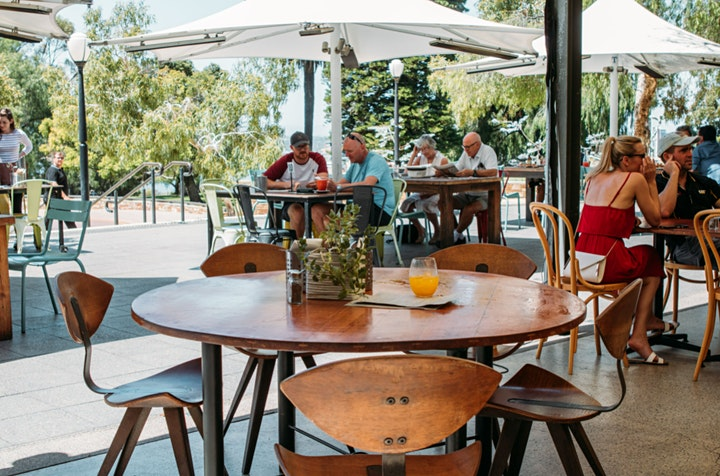 Christmas Breakfast & Lunch in Kings Park  | The Botanical Cafe image